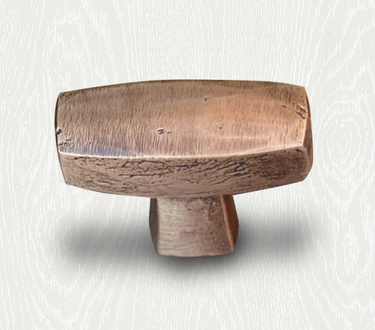 bronzen meubelknop landelijk meubelbeslag