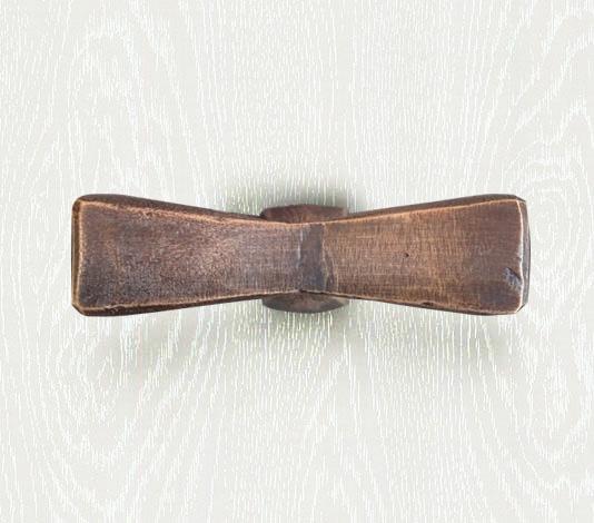 meubelknop landelijk brons