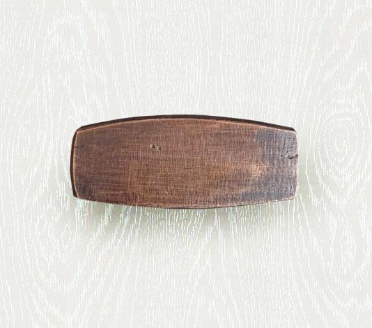 bronzen meubelknop eitje landelijk