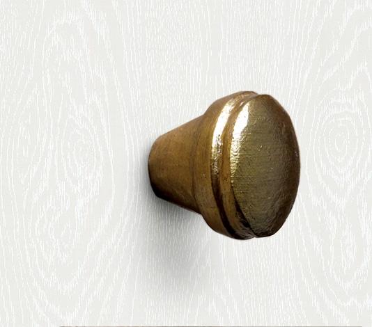 meubelknop licht brons landelijk
